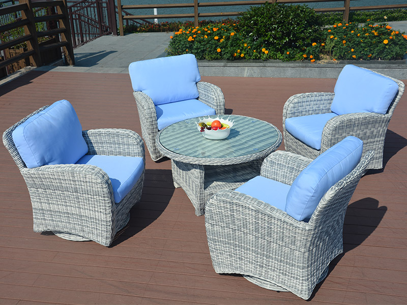 Rattan sofa set design