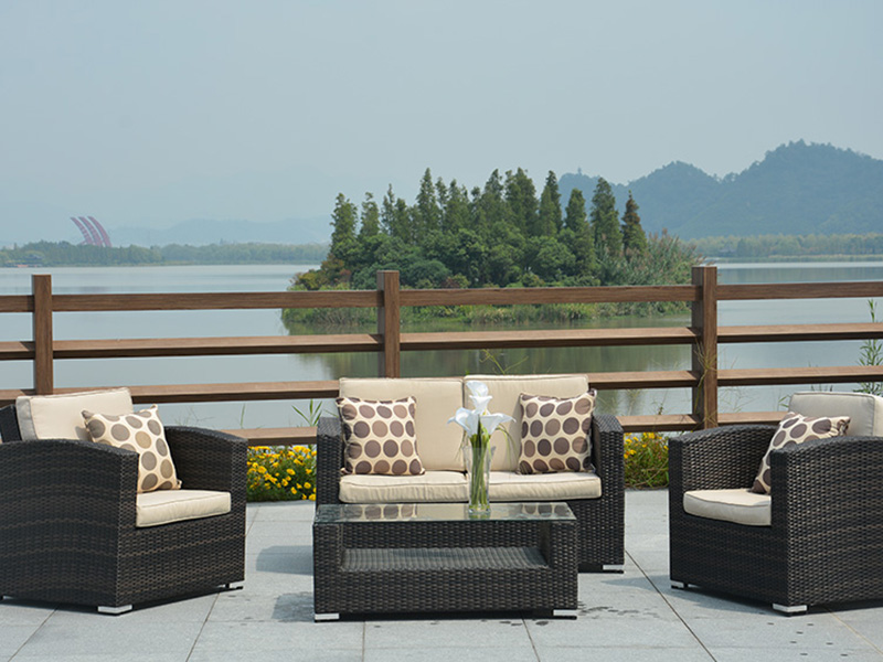 2020 Outdoor rattan sofa sets furniture